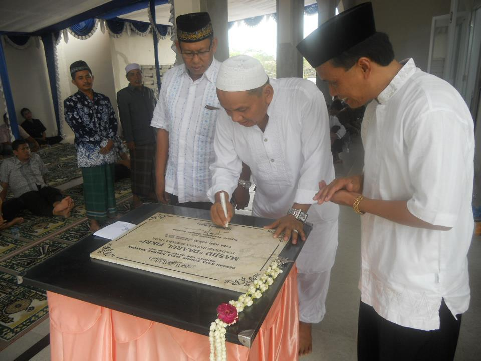 Peresmian Masjid Daarul Fikri Politeknik Tegal
