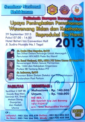 Seminar Nasional Kebidanan