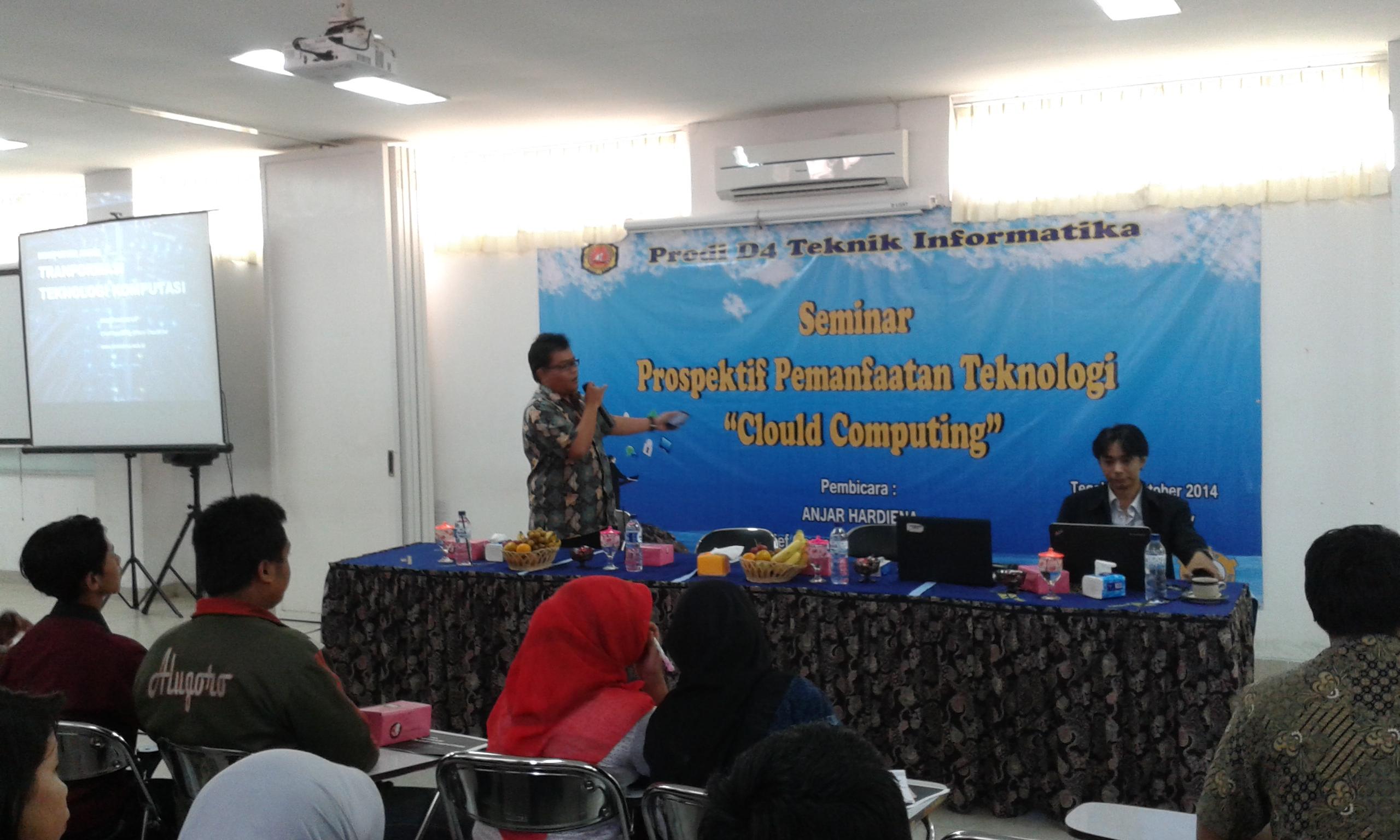 Seminar Teknologi - Cloud Computing D4 Teknik Informatika
