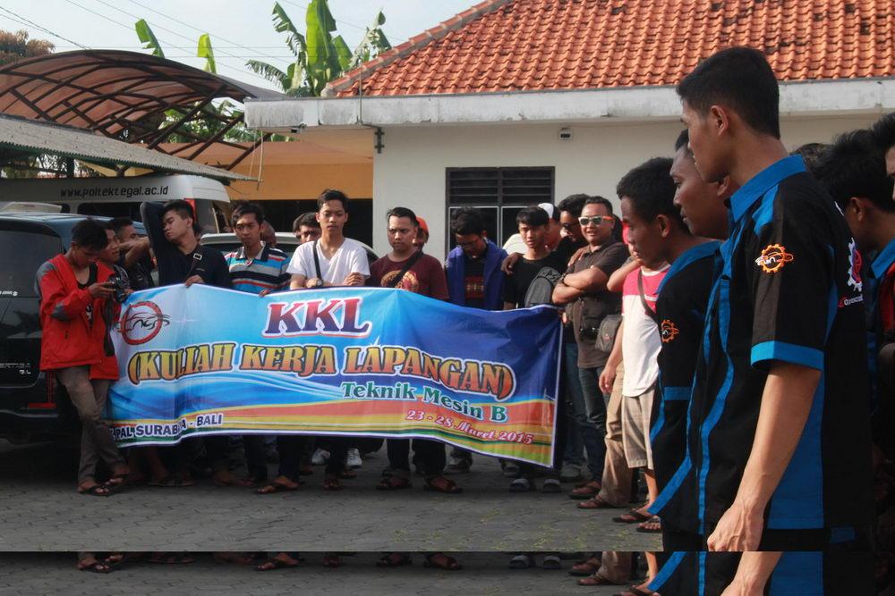 KKL (Kuliah Kerja Lapangan) Prodi Teknik Elektro Dan Teknik Mesin