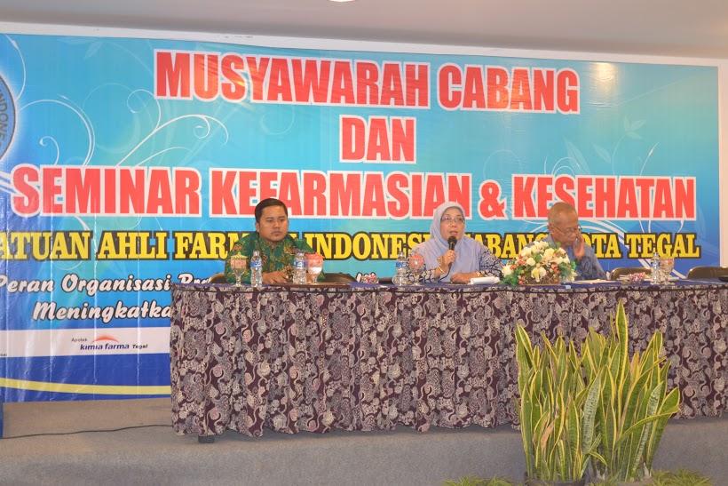 Seminar Dan Musyawarah Cabang PC PAFI Kota Tegal