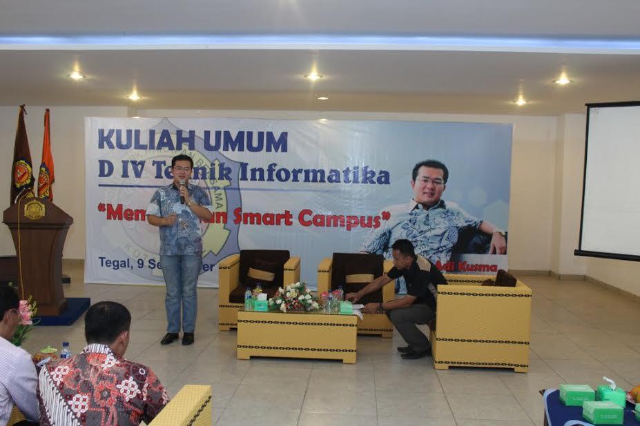 """Kuliah Umum """"Membangun Smart Campus"""""""