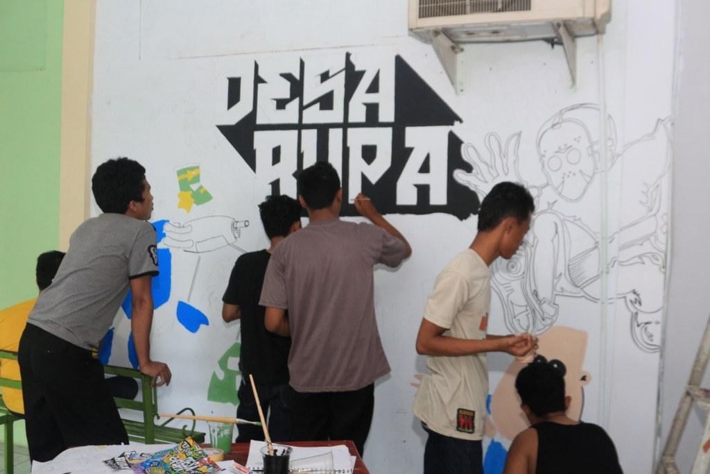 Menciptakan Minat Mahasiswa Dalam Seni Mural