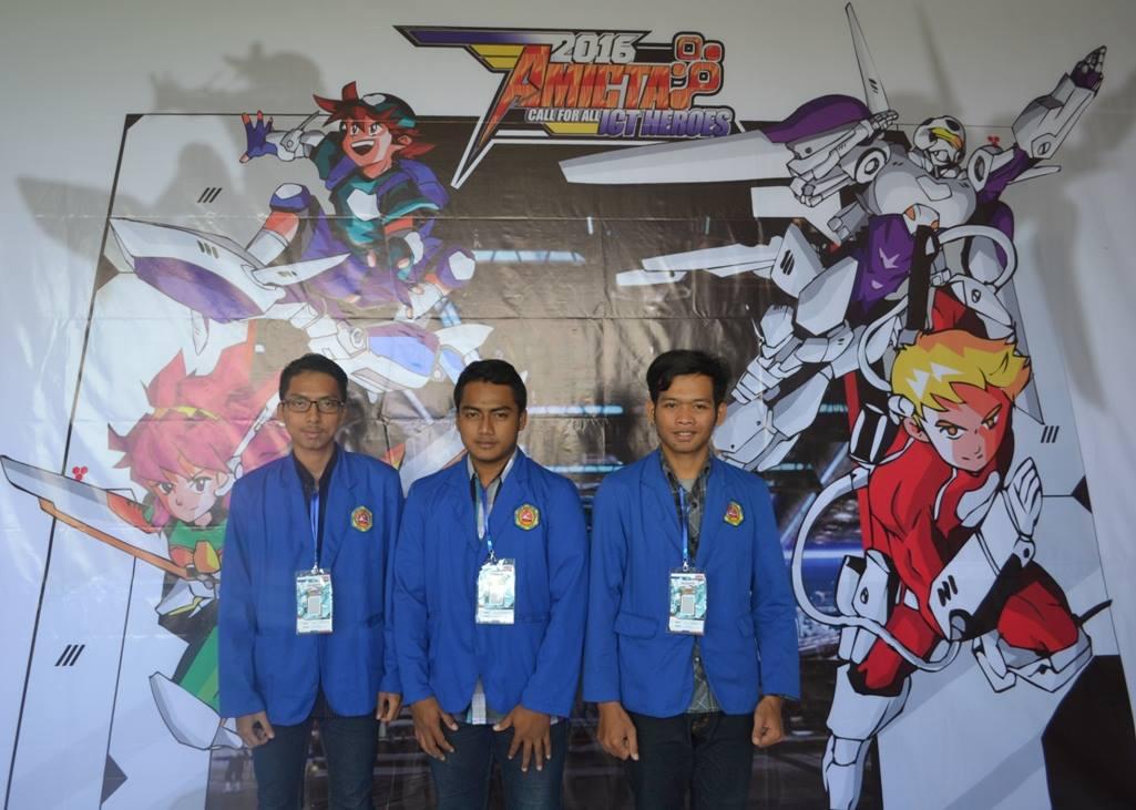 Mahasiswa DIV Teknik Informatika Jadi ICT Hero'es AMICTA 2016 di STMIK Amikom Yogyakarta