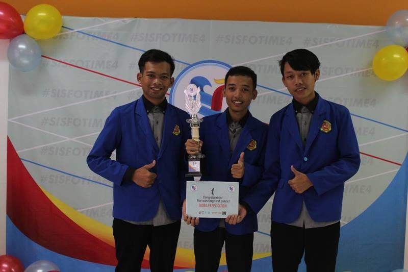 Mahasiswa Teknik Informatika Raih Juara 1 di Ajang Sisfotime 4 Telkom University