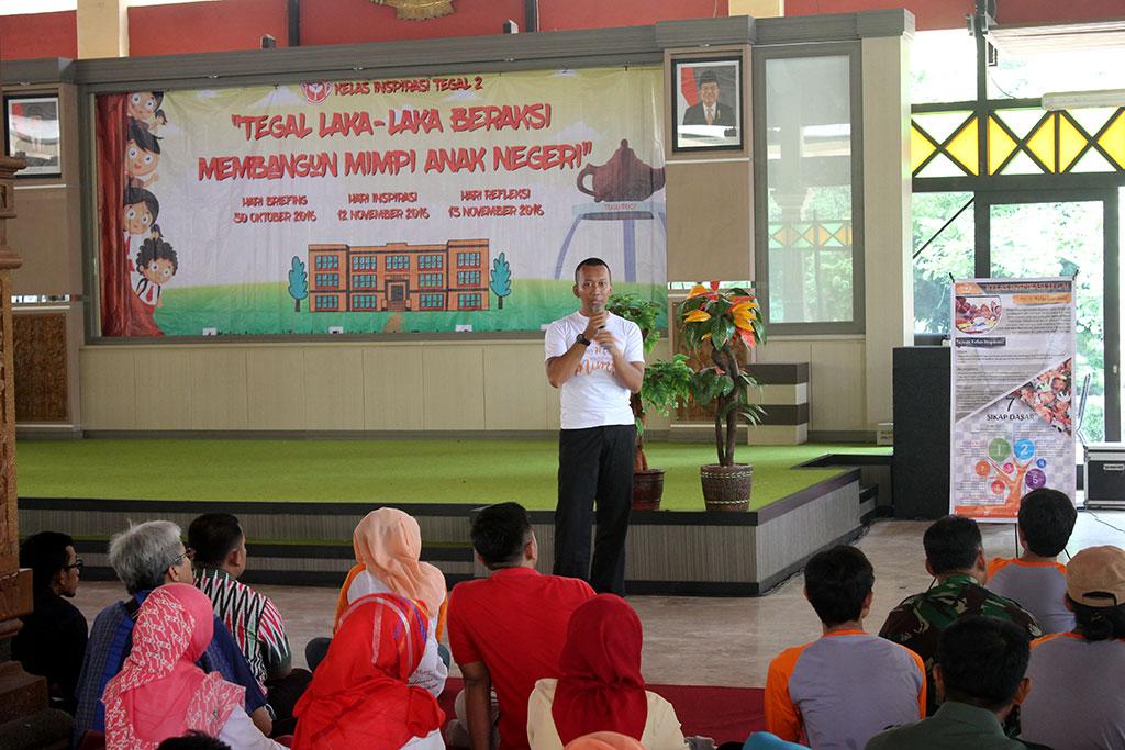Bekali 335 Relawan Untuk Menginspirasi 20 SD Kota dan Kabupaten Tegal