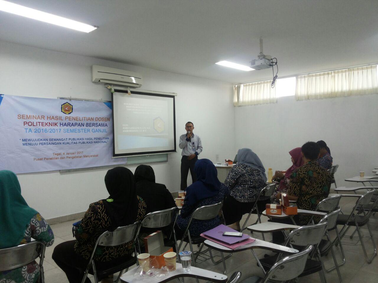 Seminar Hasil Penelitian Dosen PHB Tegal