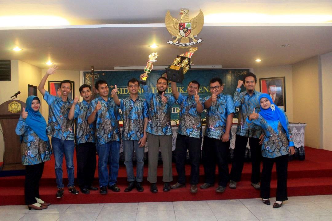 Prodi D4 Teknik Informatika Raih Juara Umum Prodi Terbaik di Poltek HB