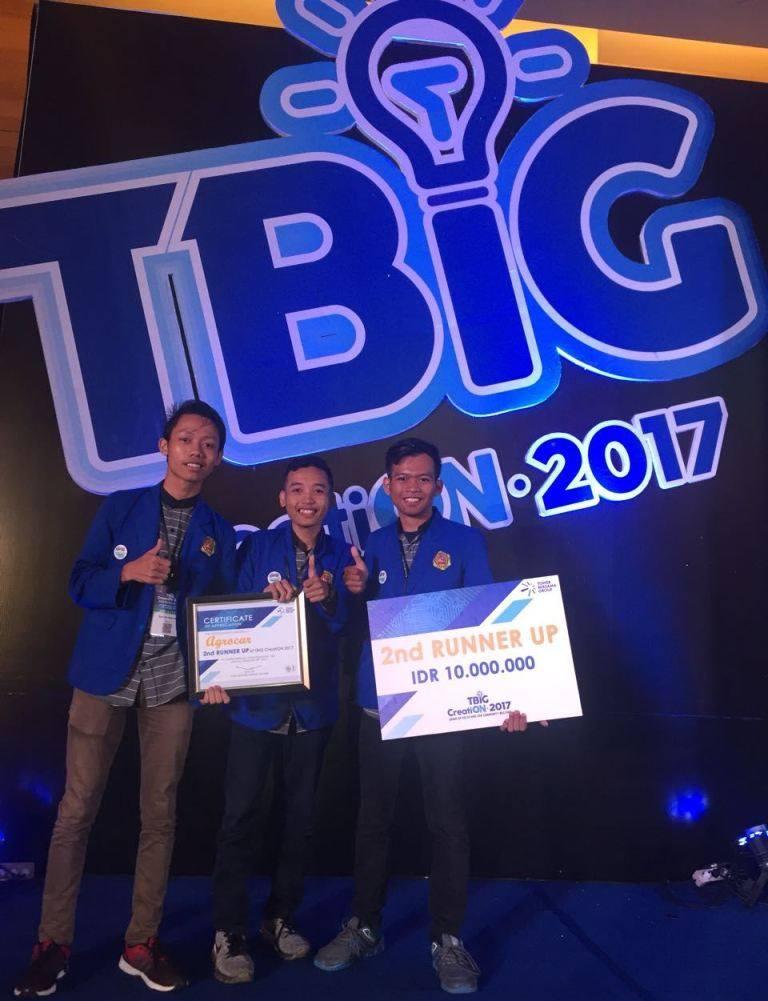 Mahasiswa Teknik Informatika Raih Juara 3 di Event TBiG CreatiON 2017