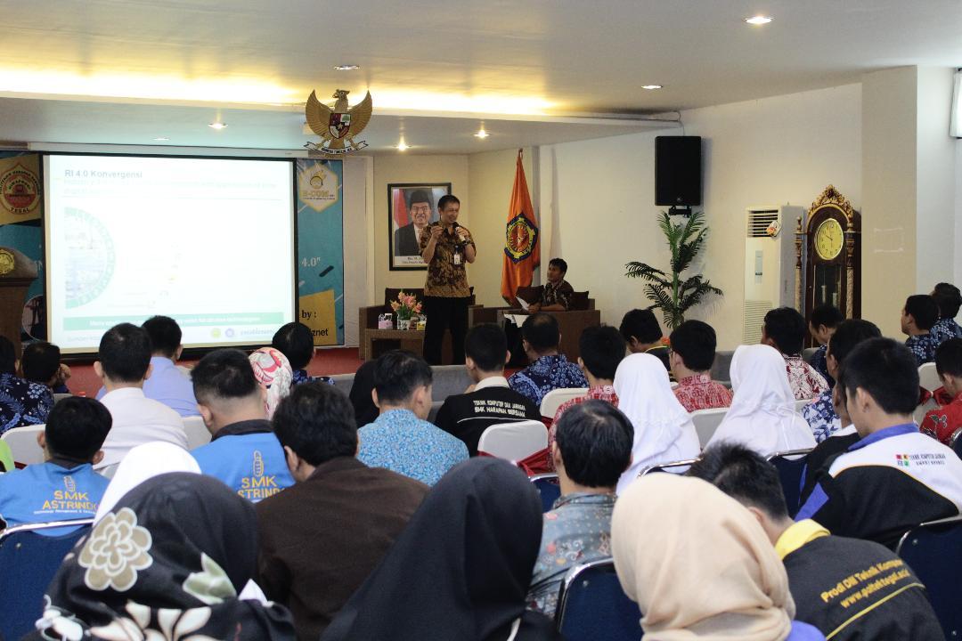 Seminar Nasional Penerapan Sumber Daya Manusia Di Bidang Teknologi Komputer Dalam Revolusi Industri 4.0