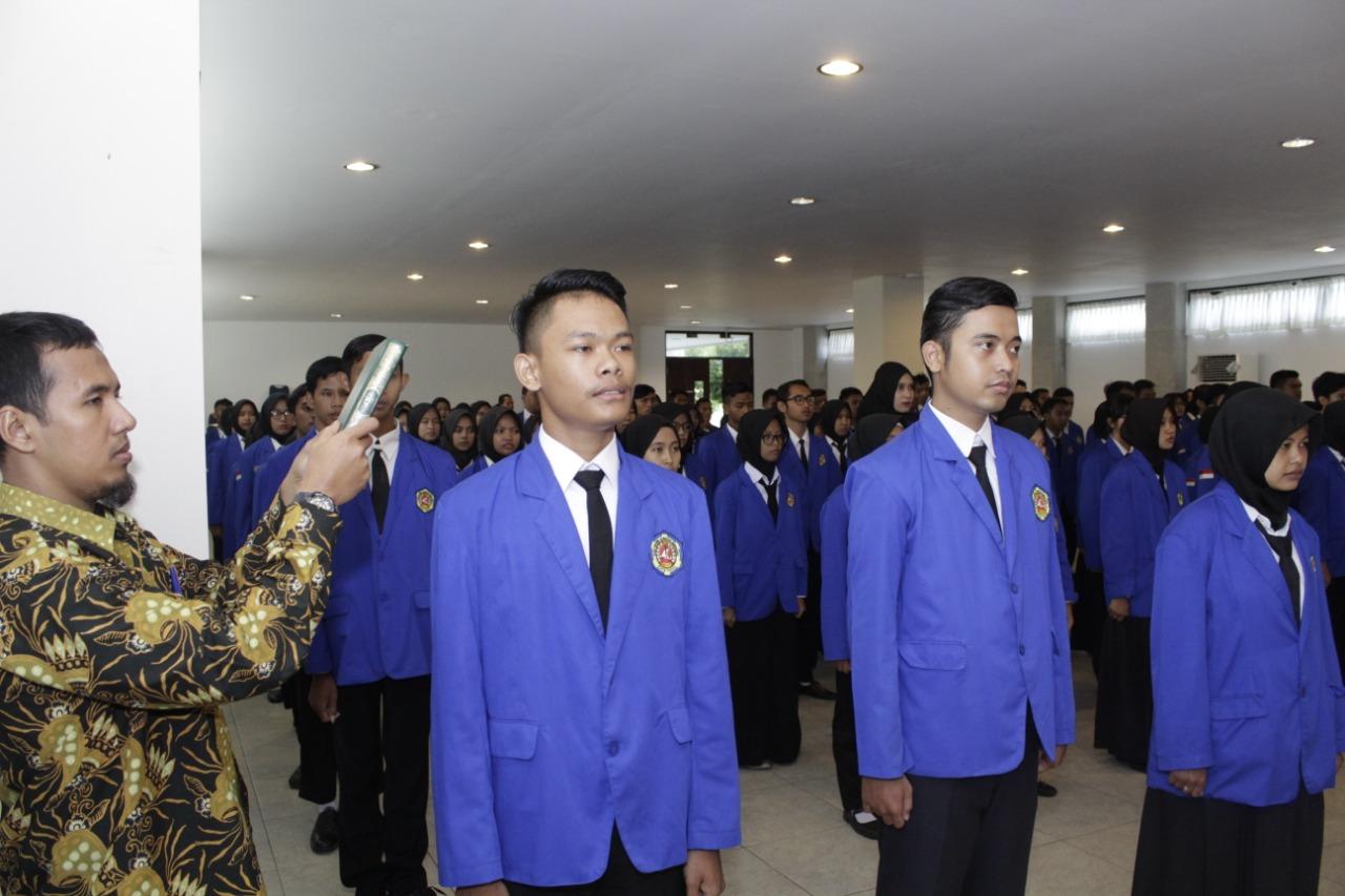 Pelantikan Sertijab Pengurus Organisasi Mahasiswa Periode 2019
