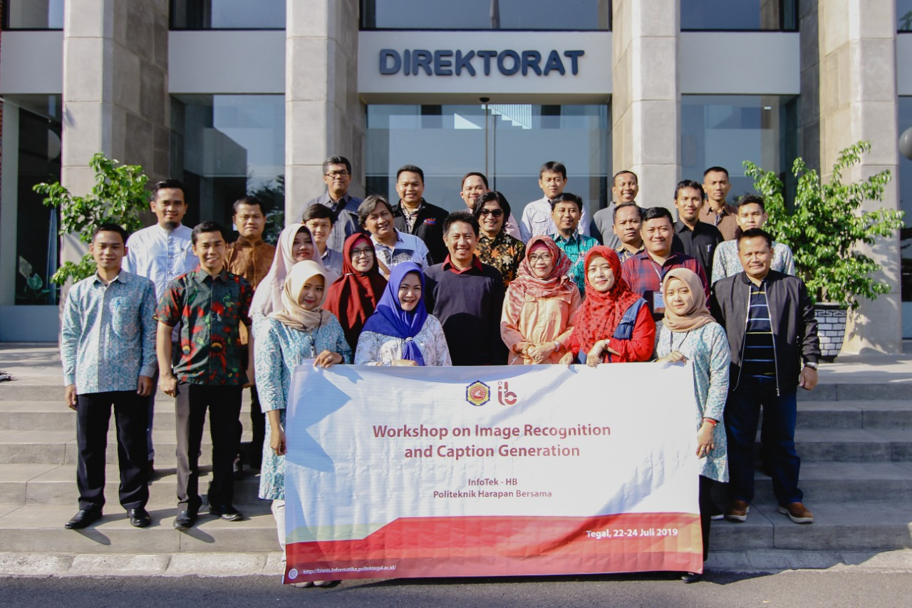 IINFOTEK-HB Sukses Selenggarakan Workshop on Image Recognition And Caption Generation