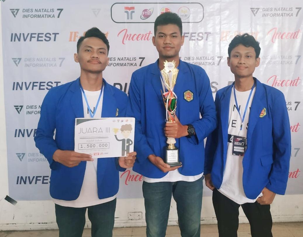 Mahasiswa TI - Poltek HB Kembali Raih Juara Apps Innovation di event Invfest 4.0 - Institut Teknologi Telkom