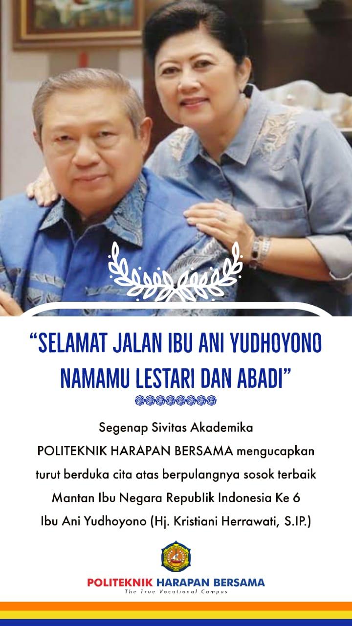 Selamat Jalan Ibu Ani Yudhoyono Namamu Lestari Dan Abadi