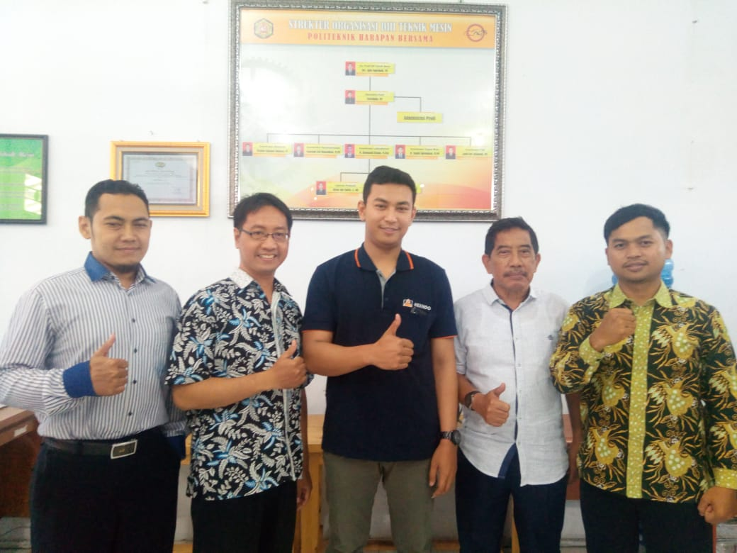 Success Story (2) Prodi DIII Teknik Mesin