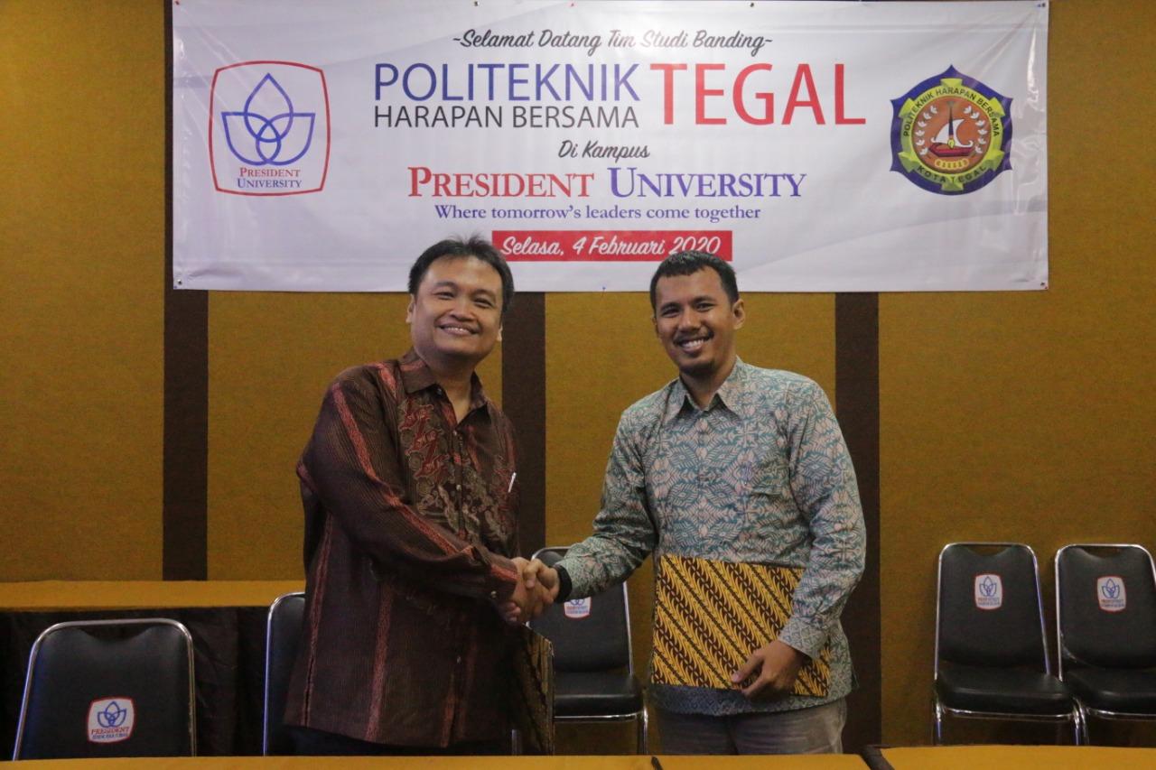 Teknik Informatika PHB Jalin Kerja Sama dengan President University