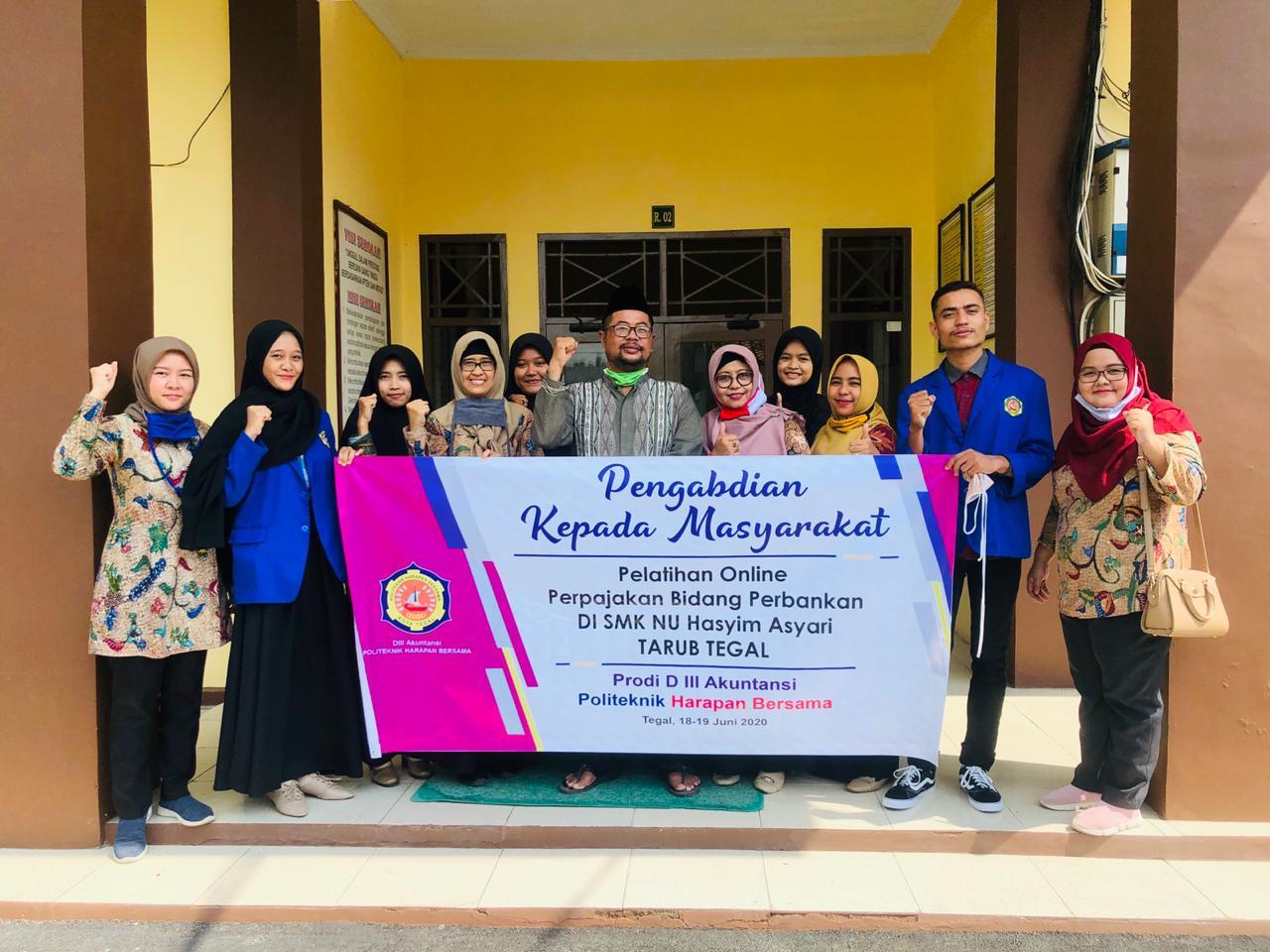 Prodi Akuntansi Beri Pelatihan SMK Hasyim Asyari