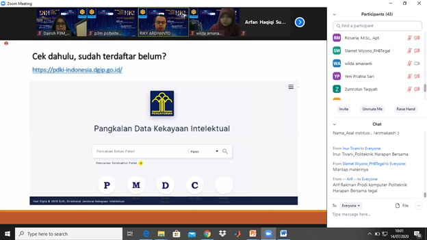 Webinar Hak Kekayaan Intelektual (HKI)