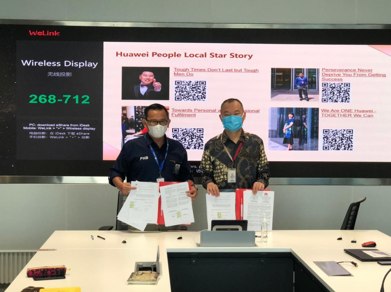 PHB Gandeng Huawei dan Kawan Lama